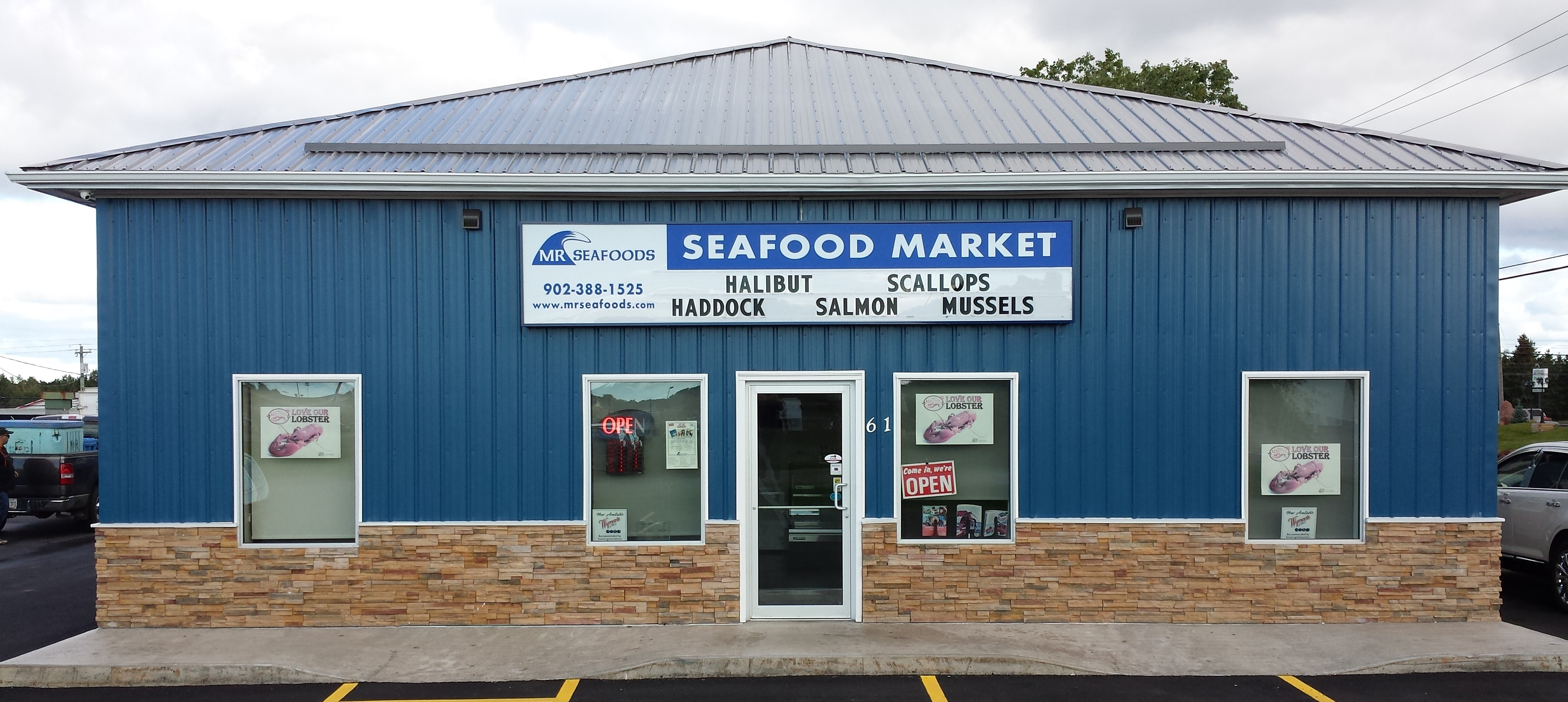 MR Seafoods Retail Shop